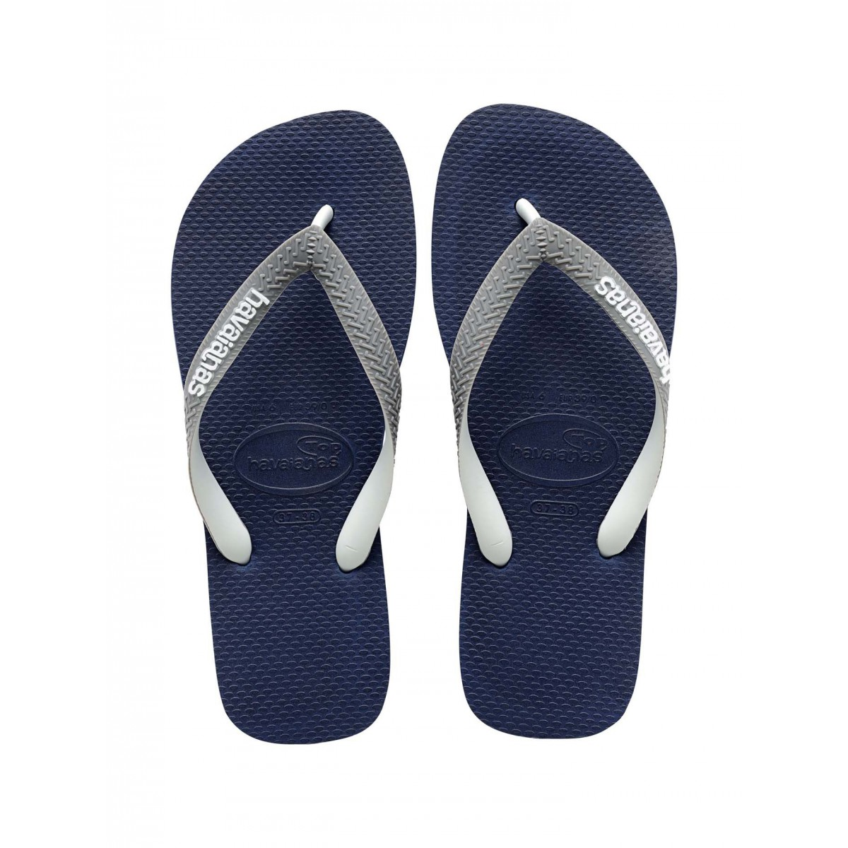 Marine Gris Top Et Mix Tong Homme Havaianas Nnv0Oywm8