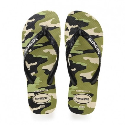 Havaianas tong top camouflage beige adulte